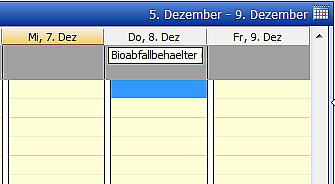 Abfuhrtermin im Outlook-Kalender