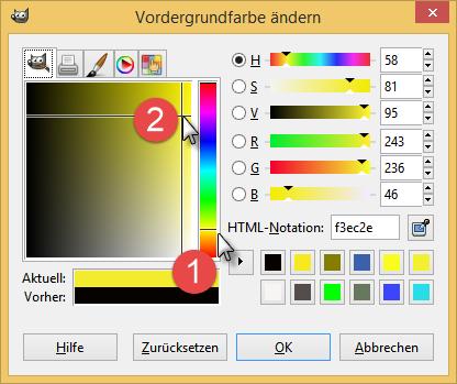 Bild 12 Farbauswahl-Dialog